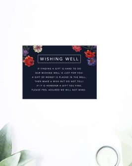 Dark Floral Wedding Invitations Black Purple Marsala Flowers Modern Wedding Invites australia perth sydney melbourne brisbane adelaide sail and swan
