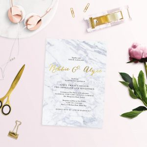 gold foil marble wedding invitations gold marble invitations gold foil marble invites wedding stationery australia perth sydney melbourne brisbane sail and swan marble wedding invitations