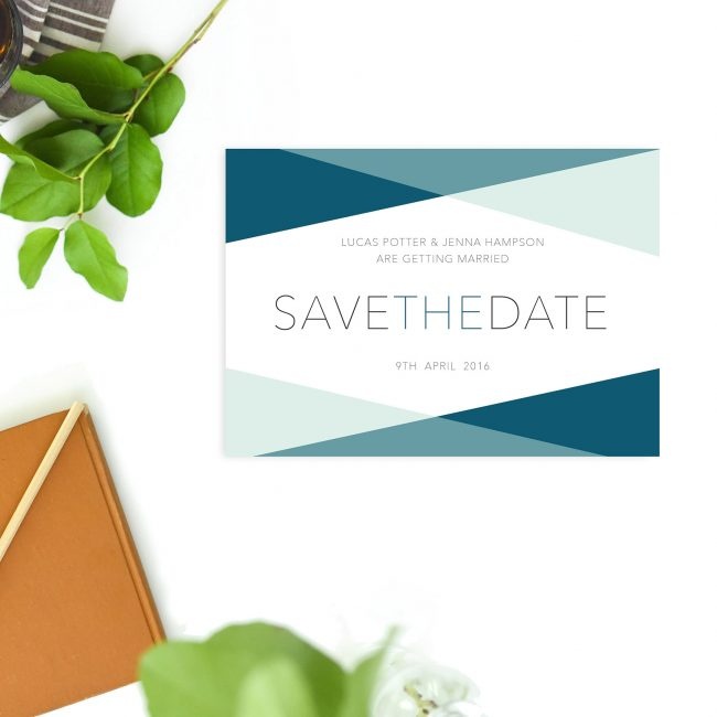 Mint Turquoise Minimal Modern Save the Dates Australia Sydney Perth Melbourne Adelaide Canberra brisbane Turquoise Save the Dates United States new york uk london