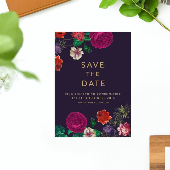 Floral Burgundy Save the Dates Australia Sydney Perth Melbourne Brisbane Canberra Adelaide Marsala Love Floral Botanical Modern Save the Dates United States New York UK London