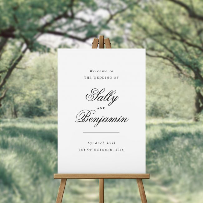Luxurious Wedding Welcome Sign Australia Luxe Chic Welcome Sign Sydney Perth Melbourne Adelaide Canberra brisbane Sail and Swan